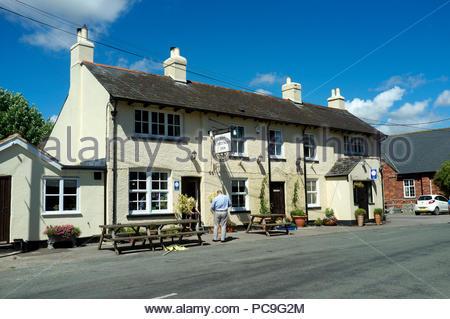 The Chetnole Inn - in the village of Chetnole in Dorset, UK. - Stock Image