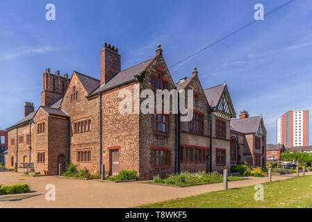 Ordsall Hall Manchester. - Stock Image
