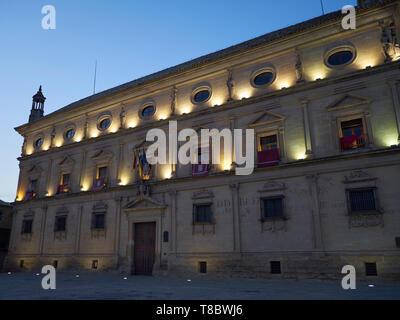 Palacio Vázquez de Molina / De las Cadenas. Úbeda, Jaén, Andalusia, Spain. - Stock Image