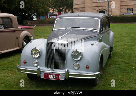 1956 Armstrong-Siddeley Sapphire 346 car at a concourse in the Parliament House gardens, Hobart, Tasmania, Australia - Stock Image