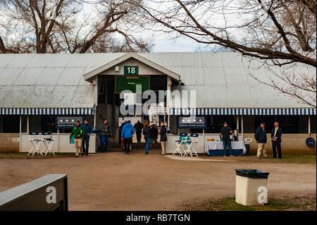 Keeneland January 2019 Thoroughbred Horse Sales in Lexington Kentucky (USA) - Stock Image