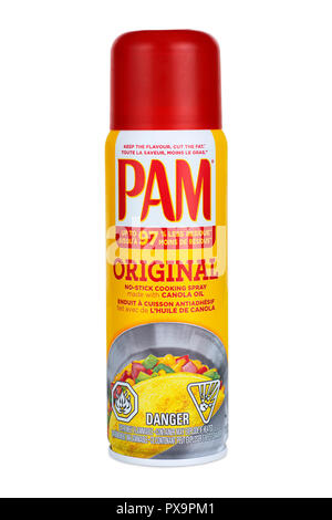 PAM Cooking Spray - Stock Image