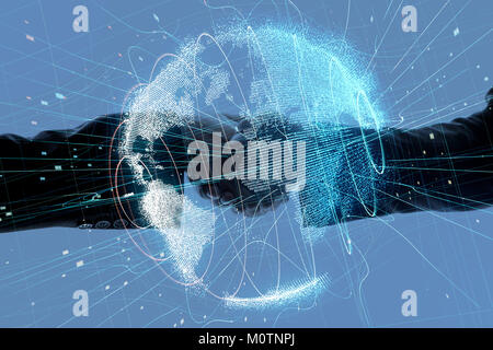 Global business concept. - Stock Image