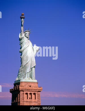 Statue of Liberty, Liberty Island, New York, USA - Stock Image