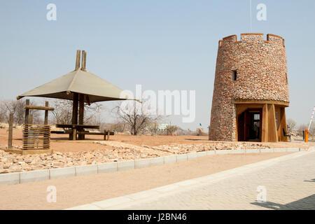 Africa, Namibia, Etosha National Park. Picnic spot at the park entrance. Credit as: Wendy Kaveney / Jaynes Gallery - Stock Image