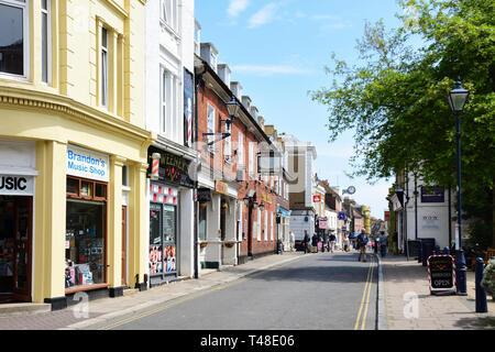 High Street, Hythe, Kent, England, United Kingdom - Stock Image
