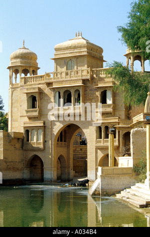 Teelon Ki Pol, Gadi Sagar, Jaiselmer, Rajasthan, India - Stock Image
