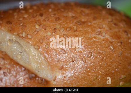 bread,sesame - Stock Image