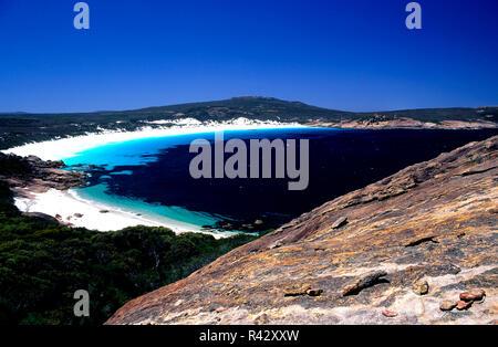 Thistle Cove Bay Cape Le Grand National Park Esperance Southwest Australia - Stock Image
