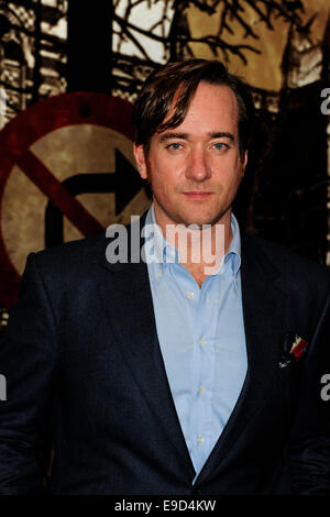 London, UK. 24th Oct, 2014. Matthew MacFadyen attend the Specsavers Crime Thriller Awards 2014 at the Grosvenor - Stock Image