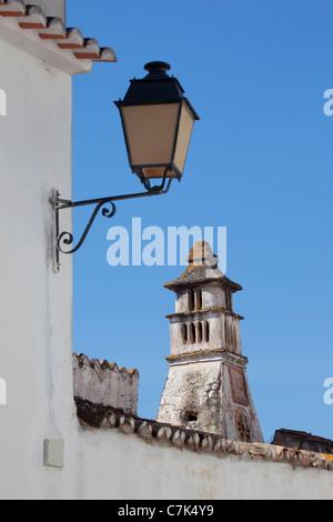 Portugal, Algarve, Alte, Chimney & Lantern - Stock Image