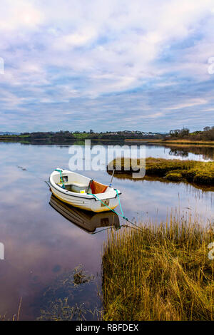 Ardara, County Donegal, Ireland. 10th January 2019. Still, calm and overcast on the north-west coast. Credit: Richard Wayman/Alamy Live News - Stock Image
