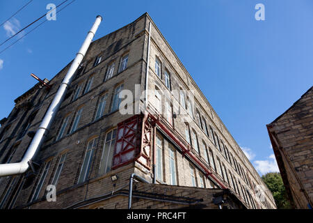 Asquith Mill, Sowerby Bridge, West Yorkshire - Stock Image