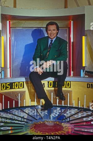 Peter Bond, deutscher Schauspieler und Fernsehmoderator, Deutschland ca. 1988. German actor and TV presenter Peter Bond, Germany ca. 1988. - Stock Image