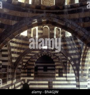 Khan Asad Pasha Damascus Syria - Stock Image