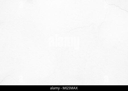 White Concrete Wall Background. - Stock Image