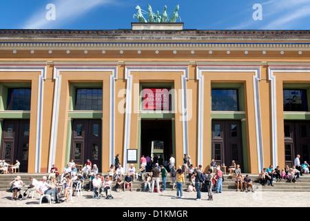 Thorvaldsens Museum in Copenhagen Denmark - Stock Image