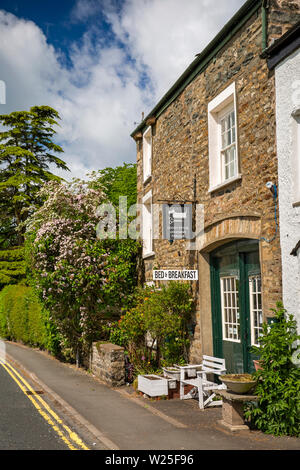 UK, England, Cumbria, Sedbergh, Back Lane, Doggy Stylin Grooming Parlour in old stone-built building - Stock Image