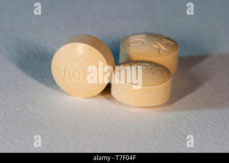 Vioxx tablets. - Stock Image