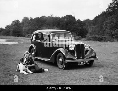 Daimler DB18 1938 reg, DWK370 - Stock Image