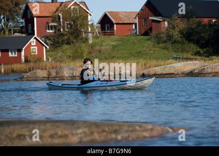 stockholm arcipelago - Stock Image