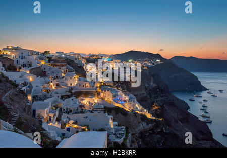 Good morning Oia , Santorini - Stock Image
