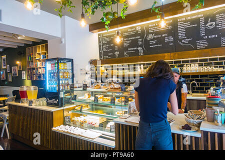 Berlin cafe  2018 - Stock Image