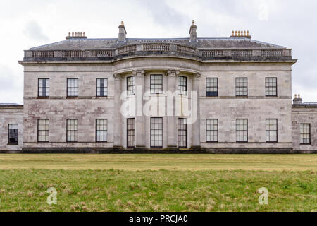 Castle Coole stately home, Enniskillen, owned my the National Trust. - Stock Image