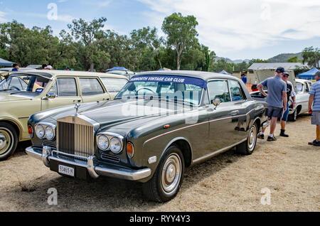 1969 Rolls Royce two door saloon - Stock Image