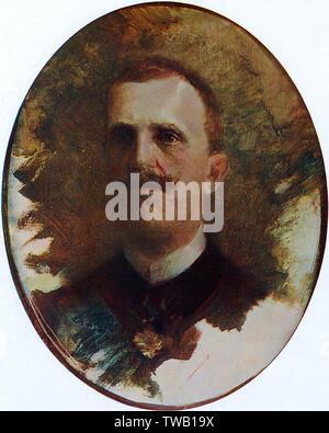VITTORIO EMANUELE III King of Italy       Date: 1869 - 1946 - Stock Image