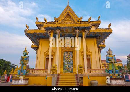 Sangke Pagoda, Wat Sangke, Battambang, Cambodia, Asia - Stock Image