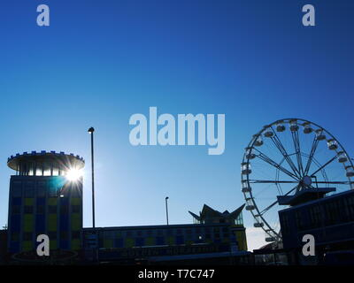 Clarence Pier,Southsea, Portsmouth, Hampshire, UK. - Stock Image
