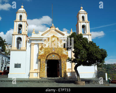 Guadalupe church Taxco - Stock Image
