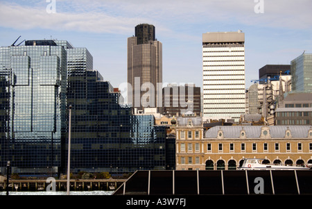 London cityscape and Nat West Tower 2007 - Stock Image