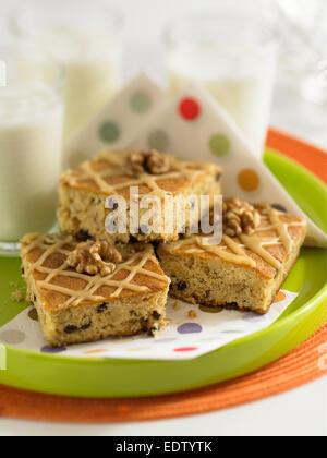 Oatmeal bars - Stock Image