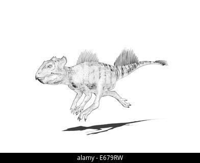 Dinosaurier Archaeoceratops / dinosaur Archaeoceratops - Stock Image