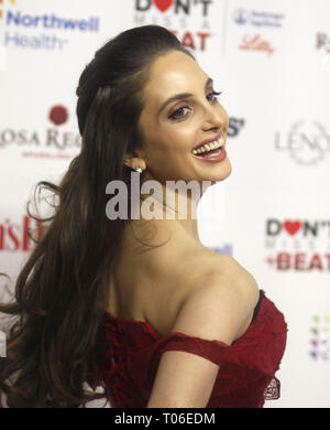 Women's Day celebrates 16th Annual Red Dress Awards held at The Appel Room at Frederick P. Rose Hall, at the Lincoln Center  Featuring: Alexa Ray Joel Where: New York, New York, United States When: 12 Feb 2019 Credit: Derrick Salters/WENN.com - Stock Image