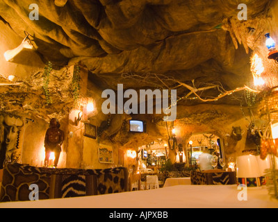 south africa cape town game restaurant - Stock Image