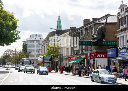 Catford Centre, Rushey Green, Catford, London Borough of Lewisham, Greater London, England, United Kingdom - Stock Image