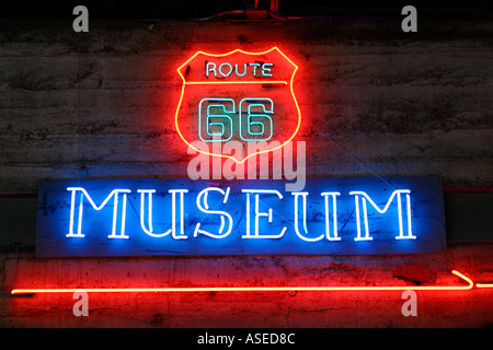 Route 66 Museum Kingman Arizona - Stock Image
