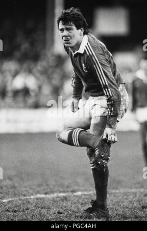 Ieuan Evans rugby player with Llanelli RFC & Wales international pictured in 1987 - Stock Image