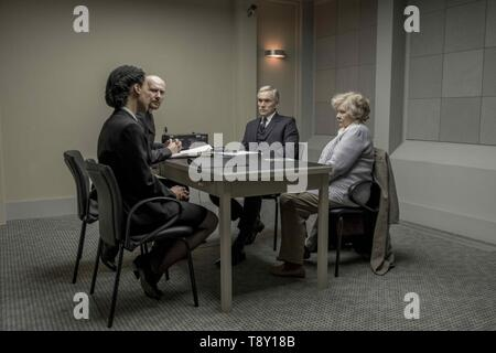 RED JOAN (2018)  BEN MILES  JUDI DENCH  TREVOR NUNN (DIR)  IFC FILMS/MOVIESTORE COLLECTION LTD - Stock Image