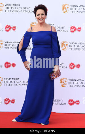 LONDON, UK. May 12, 2019: Fiona Shaw arriving for the BAFTA TV Awards 2019 at the Royal Festival Hall, London. Picture: Steve Vas/Featureflash - Stock Image