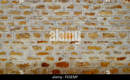 wall of hewn stones - Stock Image