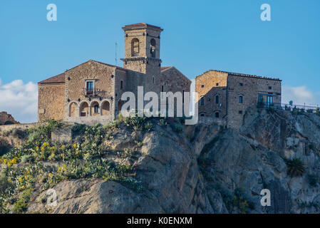 Southern Italy, Sicily, Nicosia, an island - Stock Image