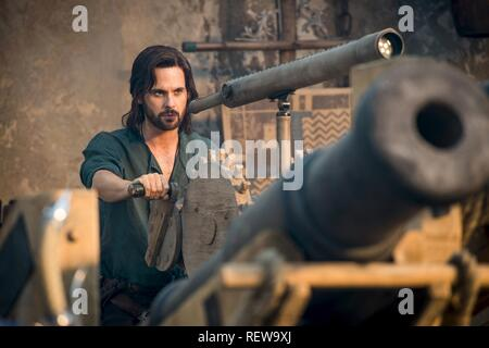 Tom Riley Television: Da Vinci'S Demons : Season 3 (TV-Serie)  Character(s): Leonardo Da Vinci  Usa 2013-2015, / 3. Staffel, Season 3 24 October 2015  SAP60134 Allstar Picture Library/BBC WORLDWIDE  **Warning**  This Photograph is for editorial use only and is the copyright of BBC WORLDWIDE  and/or the Photographer assigned by the TV or Production Company & can only be reproduced by publications in conjunction with the promotion of the above TV Programme. A Mandatory Credit To BBC WORLDWIDE is required. The Photographer should also be credited when known. No commercial use can be granted witho - Stock Image