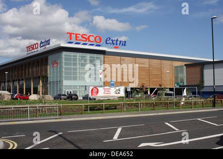 Tesco Sunderland Extra, Newcastle Road, Sunderland. - Stock Image