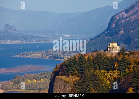 Scenic River Valley - Stock Image