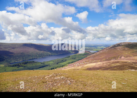 Views of Ennerdale Water to with the summit of Gtreat Born to the right. The English Lake District, UK. - Stock Image
