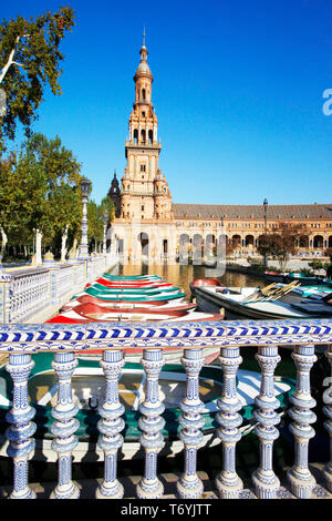 plaza espana - Stock Image